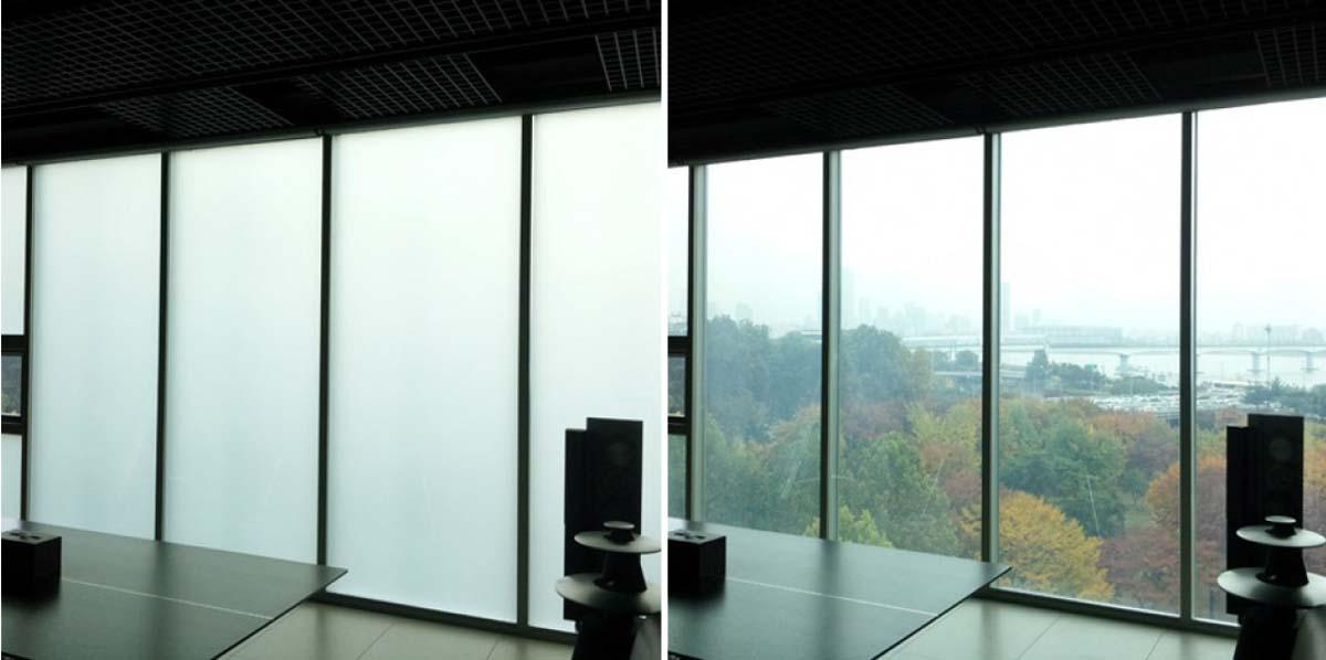 dba441f45 Como funciona o vidro do futuro que controla a opacidade e ...